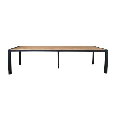 Lisbon 3m Dining Table Black