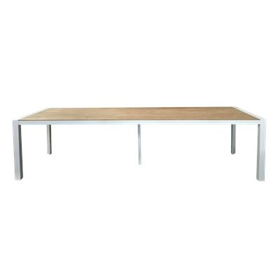 Lisbon 3m Dining Table White
