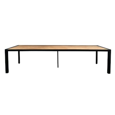 Lisbon 3.2m Dining Table Black