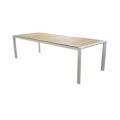 Lisbon 2.2m Dining Table White
