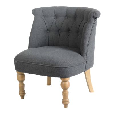 Bloomsbury Occasional Chair Charcoal