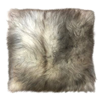 Cashmere Cushion 40cm Natural Grey