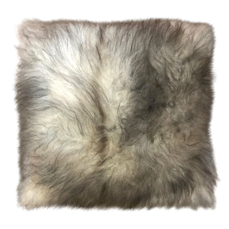 Cashmere Cushion 40cm Natural Grey