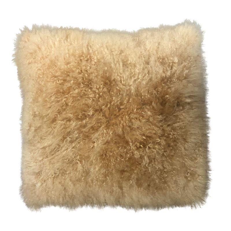 Cashmere Cushion 40cm Natural Caramel