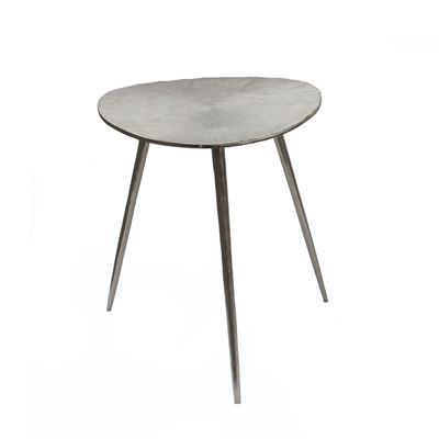 Goa Large Tri Side Table Silver