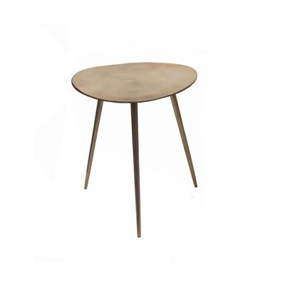 Goa Large Tri Side Table Gold