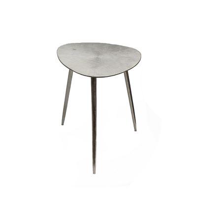 Goa Small Tri Side Table Silver