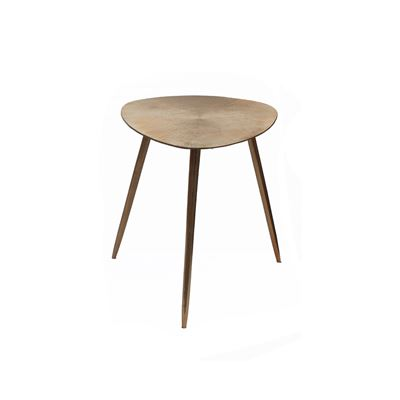 Goa Small Tri Side Table Gold