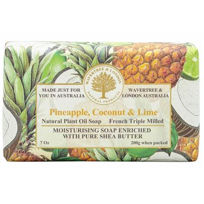 Pineapple Coconut Lime Soap 200gm