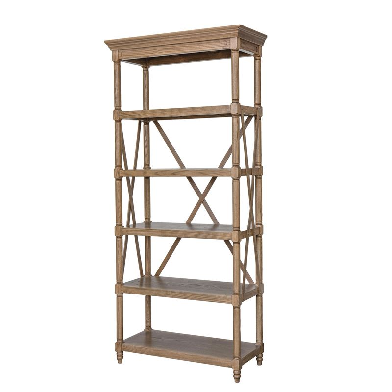 Sheffield Oak Bookshelf Display Unit