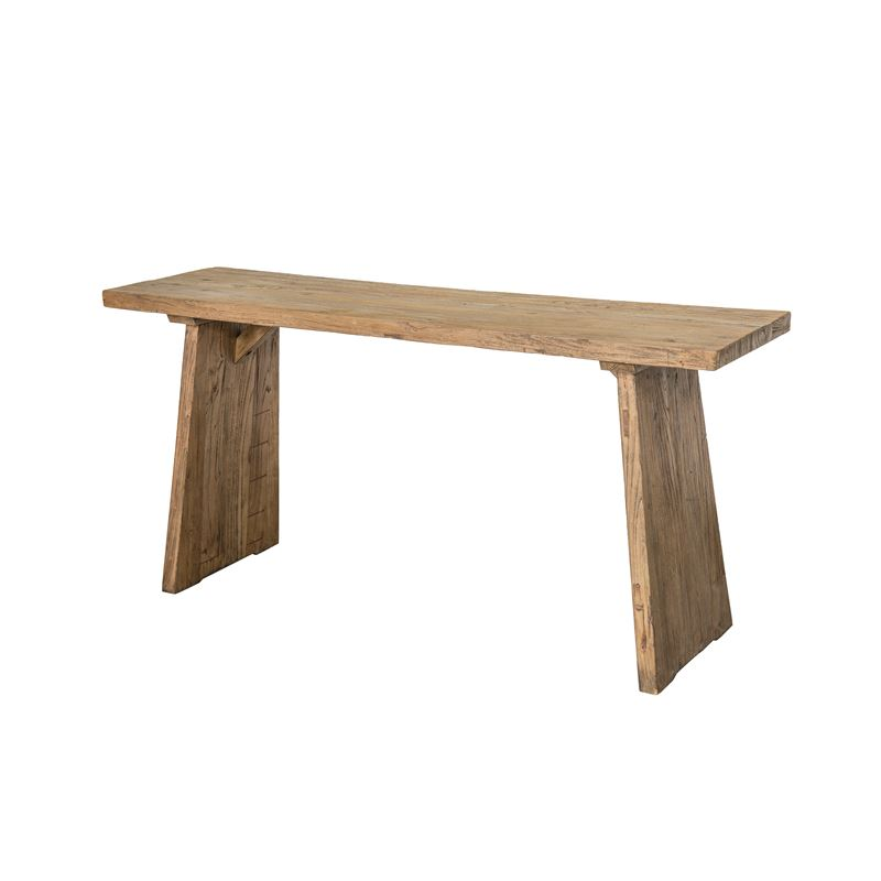 Verdun Recycled Elm Console Table