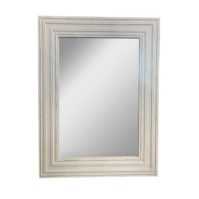 Isha Mirror White Antique 90x180cm