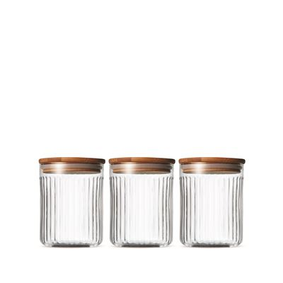 Brew Canister Set Glass 10x13cm Set of 3
