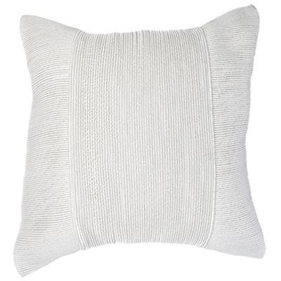 Tuxedo Square Cushion Silver 50x50cm
