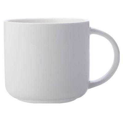 White Basics Mug 440ML White
