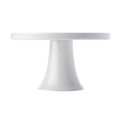 White Basics Footed Cake Stand 20cm Gift Boxed