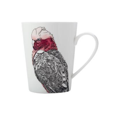 MW Marini Ferlazzo Birds Mug 450ML Tall Galah Gift Boxed
