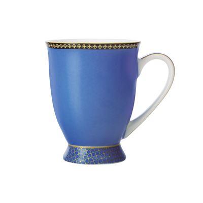 Teas & C's Contessa Classic Footed Mug 300ML Blue Gift Boxed