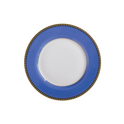 Teas & C's Contessa Classic Rim Plate 19.5cm Blue Gift Boxed