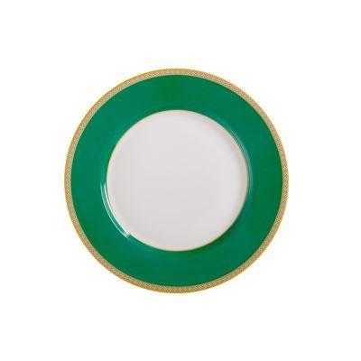 Teas & C's Contessa Classic Rim Plate 19.5cm Green Gift Boxed