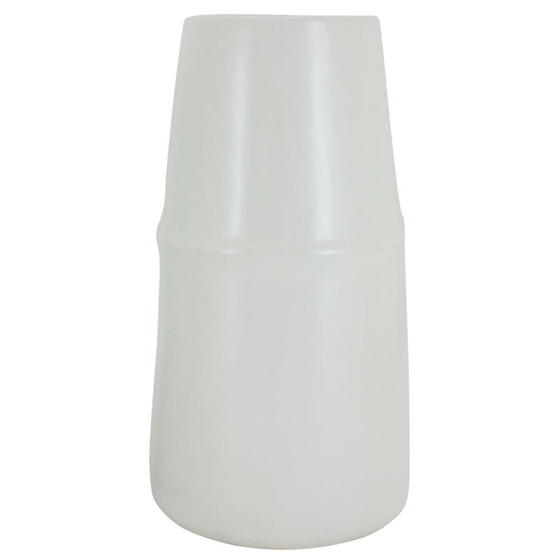 Nordic Wh Vase 18.5x35cm