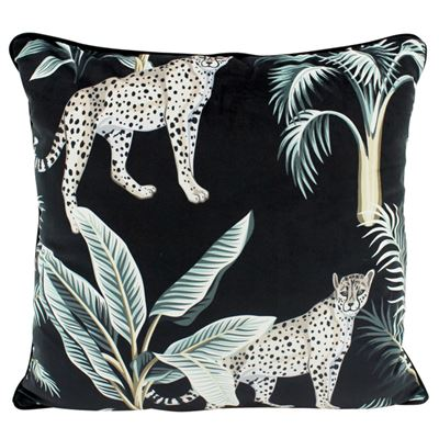 Midnight Duo Velvet Cushion 50x50
