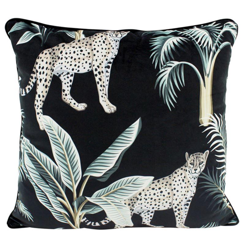 Midnight Duo Velvet Cushion 50×50