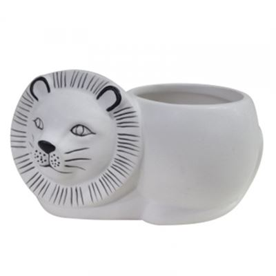 Lenny Lion Planter Pot