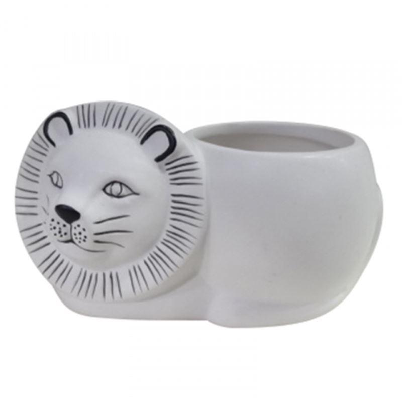 Lenny Lion Planter Pot