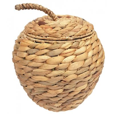 Apple Woven Basket with lid