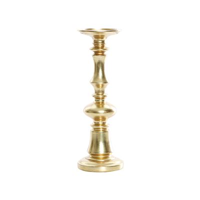 Vulcan Resin Brushed Gold Pillar Small