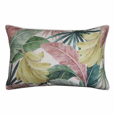 Costa Rica Pink Green Cushion 40x60cm