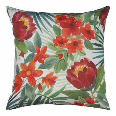 Island Floral Outdoor Cushion 50cm