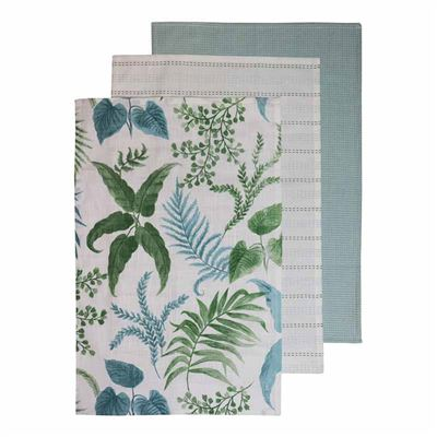 Botanica Aqua Teatowel Pack of 3