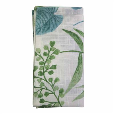 Botanica Aqua Green Napkin Set of 4