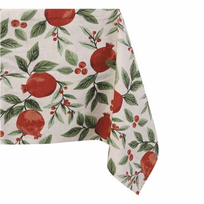 Pomegranate Red Table Cloth 150x300cm