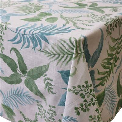 Botanica Aqua Green Tablecloth 150x230cm