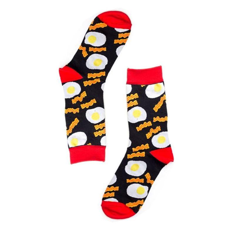 Bacon & Egg Socks