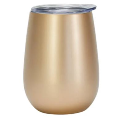 Wine Tumbler Stainless - Gold