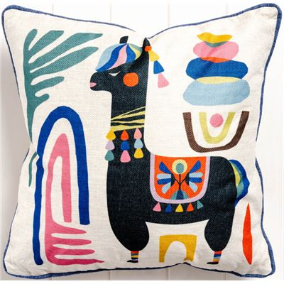 Artist Lab - Rachel Lee - Llama - Cushion Feather Insert - 45x45