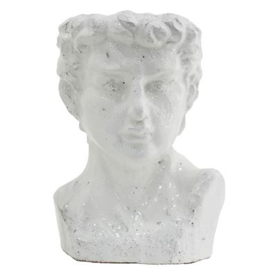 Alessio Pot White Small 18x15x26cm
