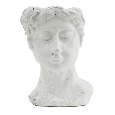 Alessandra Pot White 19x19x25cm