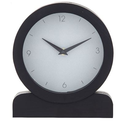 Presley Mantel Clock Black