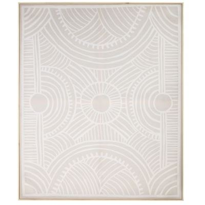 Marula White Wall Décor 100x120cm