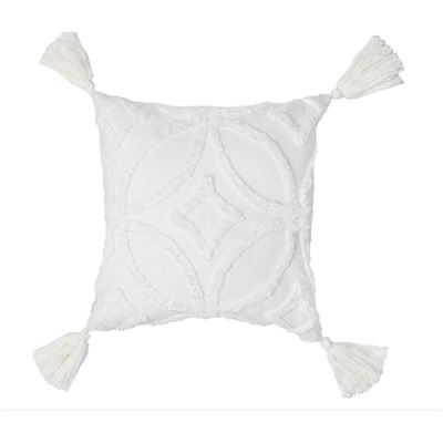 Inka Cushion White 50x50cm