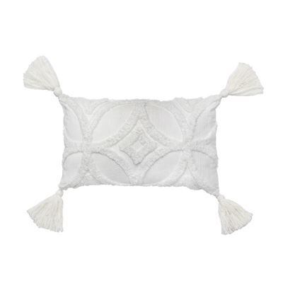 Inka Cushion White 50x30cm