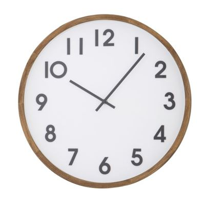Leonard Wall Clock White/Black 41.5cm