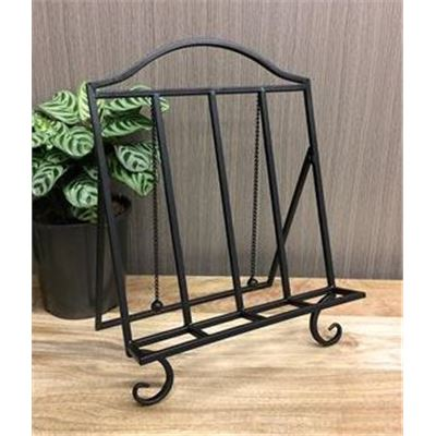 Recipe Holder Black