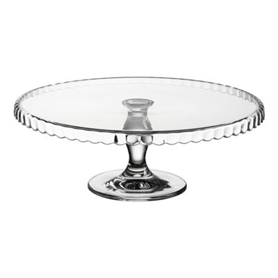 Patisserie Cake Stand 32cm Scallop Pattern