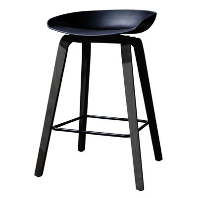 Williamsburg Barstool All Black